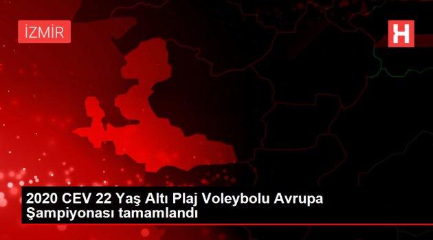 2020 CEV 22 Yaş Altı Plaj Voleybolu Avrupa Şampiyonası tamamlandı