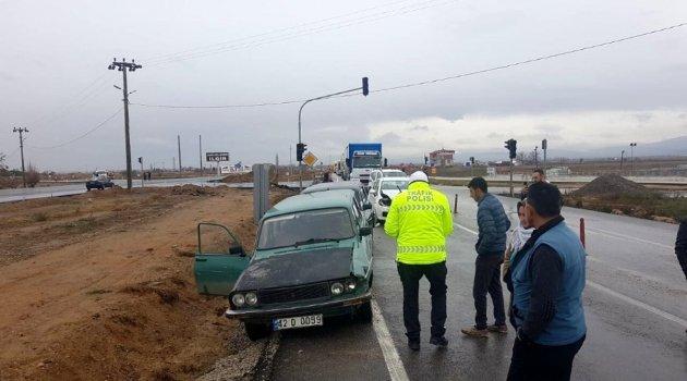 4 araçlı zincirleme trafik kazası