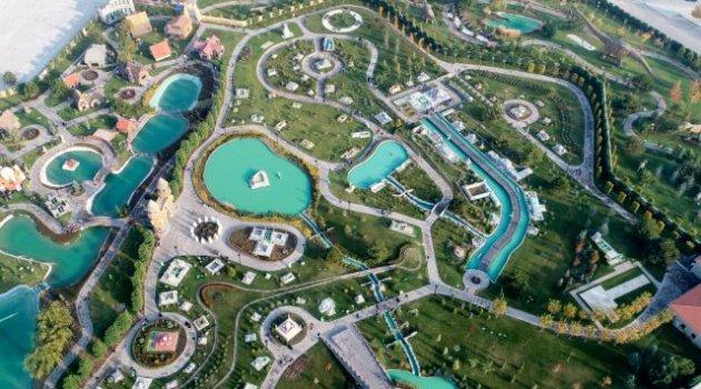 80 Binde Devr-i Alem Parkı'nda ara tatil yoğunluğu