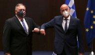 ABD Dışişleri Bakanı Pompeo Yunanistan'da: 'Amaç Ankara ve Atina arasında olası kazaları önlemek'