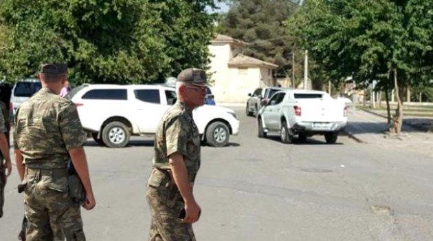 ABD'li Korgeneral Twitty, Suriye sınırında incelemede bulundu