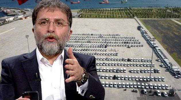 Ahmet Hakan'dan Yenikapı'daki araçlarla ilgili sürpriz çağrı