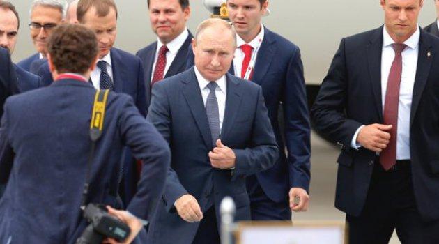 Ankara'da üçlü Suriye zirvesi! Ruhani'nin ardından Putin de geldi