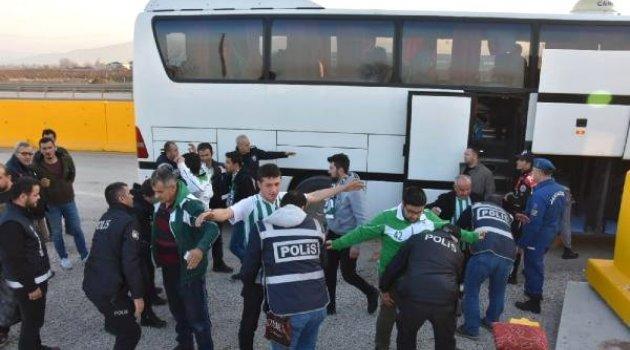 Atiker Konyaspor Taraftarına Bursa'da Sıkı Arama