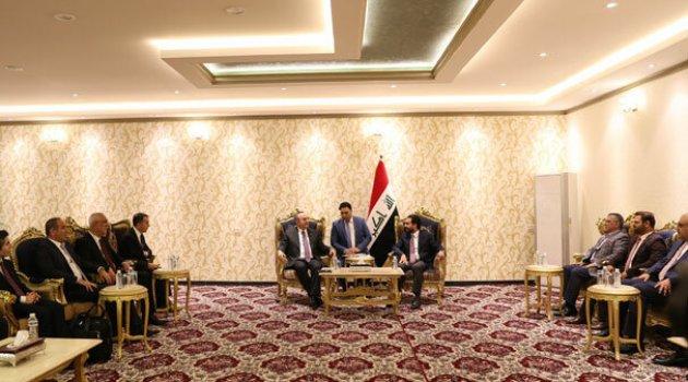 Bakan Çavuşoğlu Irak Meclis Başkanı ile görüştü