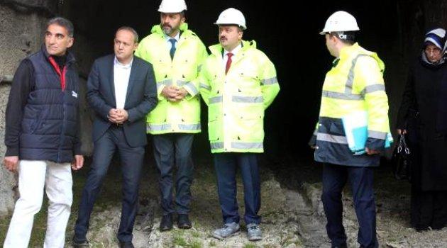 Bakan Yardımcısı Fatih Metin: Belediye üzerine düşeni yaparsa, tüneli bitiririz