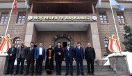 Başkan Asya, Cumhurbaşkanı Başdanışmanı Türkmenoğlu'nu ağırladı