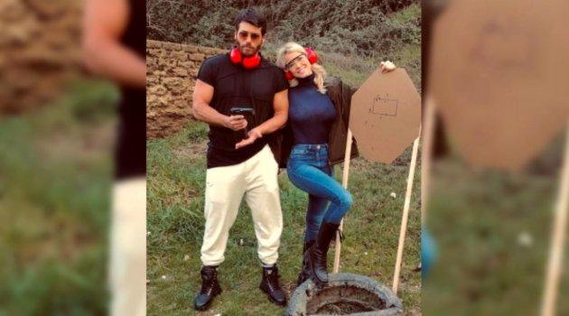 Can Yaman ile sevgilisi Diletta Leotta'nın tekne keyfi