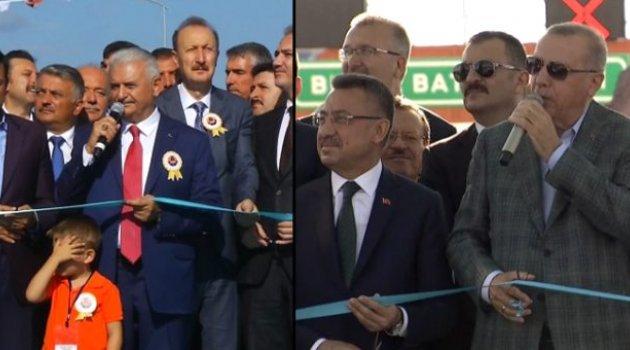 Cumhurbaşkanı Erdoğan ve Binali Yıldırım arasında ilginç diyalog