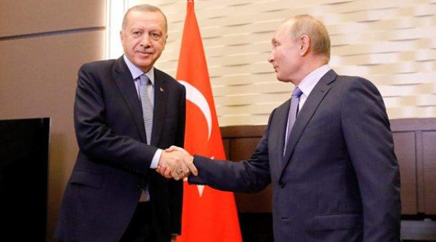 Cumhurbaşkanı Erdoğan ve Putin arasındaki görüşme başladı