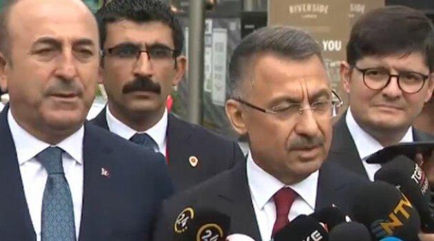 Cumhurbaşkanı Yardımcısı Fuat Oktay: Tek terörist mümkün değil