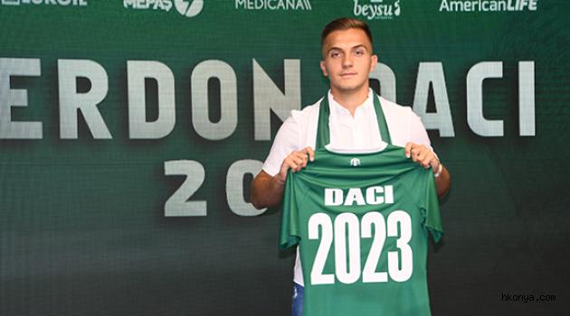Daci 2023'e kadar Konyaspor'da!