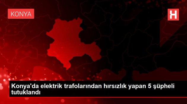 Elektrik trafolarından hırsızlık yapan 5 şüpheli tutuklandı