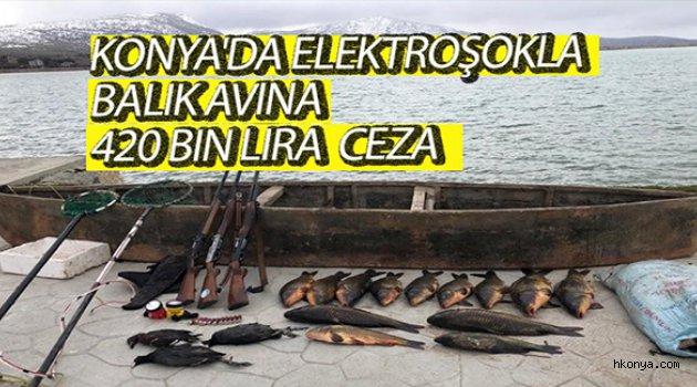 Elektroşokla balık avlayanlara 420 bin lira ceza kesildi