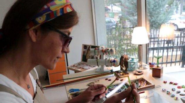 Emekli olunca cam sanatı hobisi işi oldu!