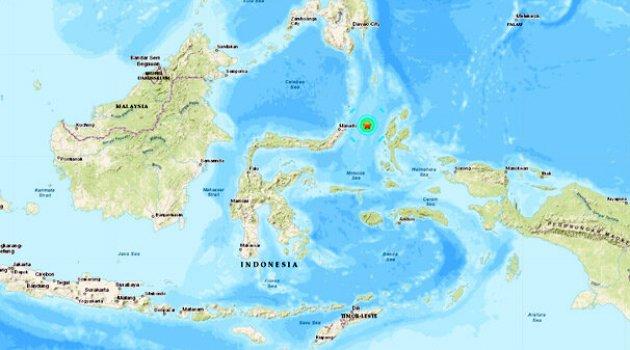 Endonezya'da peş peşe depremler