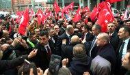 Erdoğan, Berlin'de Türklerin sevgi gösterileriyle karşılandı