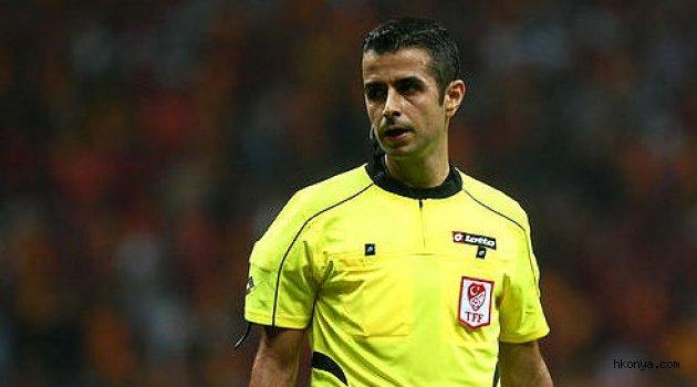Galatasaray maçını Kalkavan yönetecek