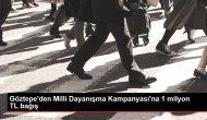 Göztepe'den Milli Dayanışma Kampanyası'na 1 milyon TL bağış