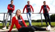Hollandalı Ellen Fokkema, erkek takımında oynayan ilk kadın futbolcu oldu