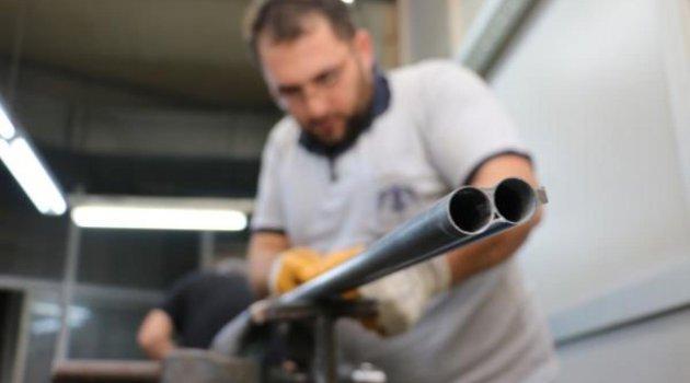 Huğlu Mahallesi'nden 25 milyon dolarlık av tüfeği ihracatı