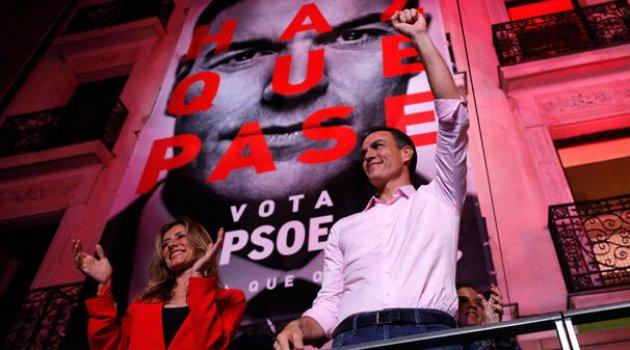İspanya'da seçimi Sosyalist Parti kazandı, aşırı sağ oylarını artırdı