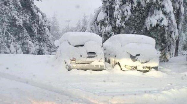 İsviçre'de Eylül ayında kar sürprizi: Kar kalınlığı 25 cm'e ulaştı