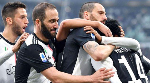 Juventus, Brescia'yı rahat geçti