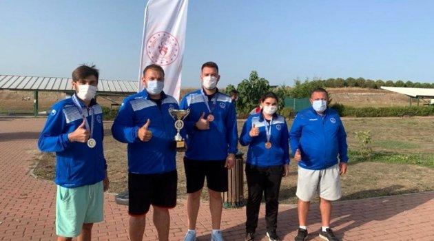 Kağıtsporlu atıcılar Türkiye şampiyonu