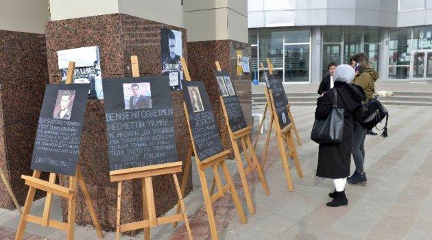 Karaman'da şehit öğretmenler fotoğraf sergisi