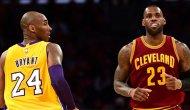 Kobe'nin ölüm haberini alan Lebron James gözyaşlarını tutamadı