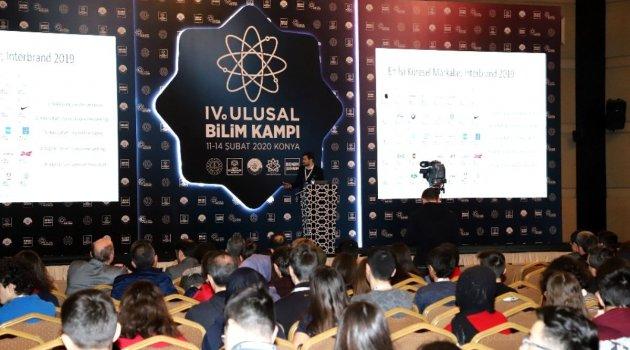 Konya'da 4.Ulusal Bilim Kampı başladı