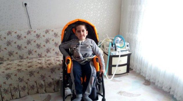 Küçük Tunahan'ın 'engelli aracı' hayali gerçek oldu