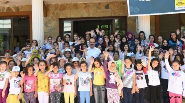 Altay Genç KOMEK Yaz Okulu Öğrencileriyle Buluştu