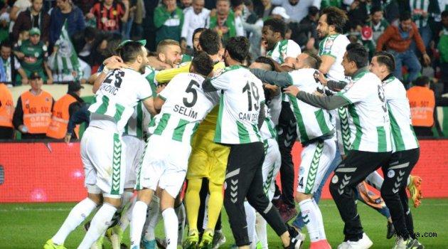 Atiker Konyaspor 2016-2017 Sezonunu 9.sırada tamamladı