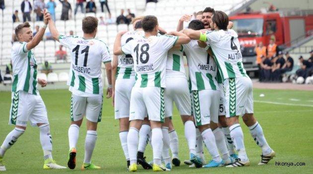 Atiker Konyaspor'un iç saha-dış saha performansı