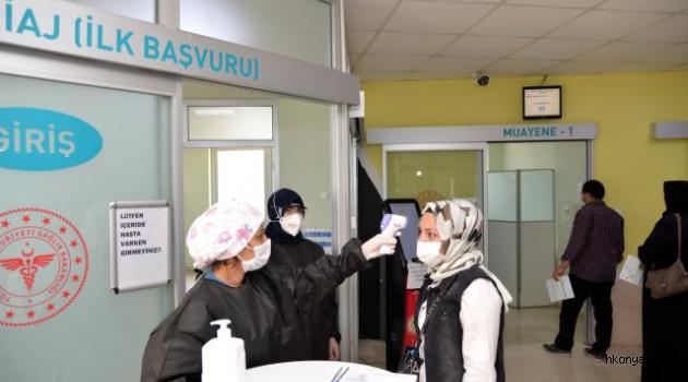 Hastanelerde 'Yeni Normal Dönem' başladı