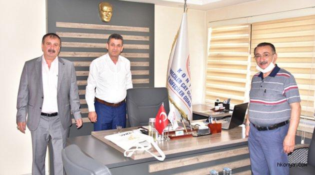Hüma Okulları'ndan Oda Başkanlarına Ziyaret