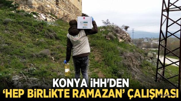 İHH'den 'Hep Birlikte Ramazan' çalışması