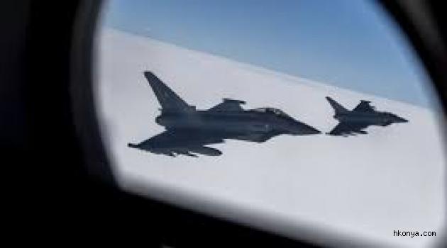 İngiliz jetleri havalandı, yolcu uçağı indirildi!