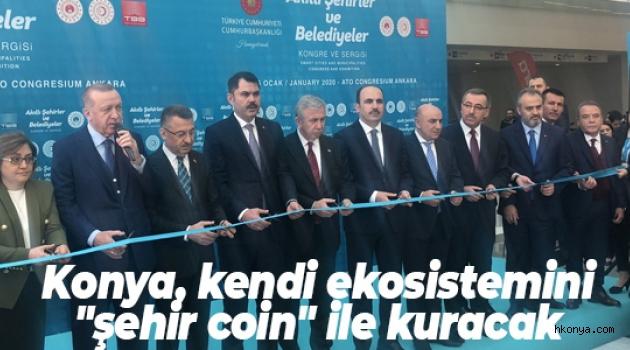 Konya, kendi ekosistemini 'şehir coin' ile kuracak