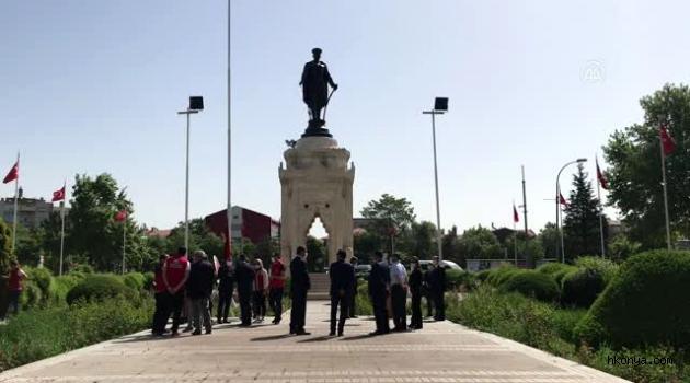 Konya'da Gençlik Haftası düzenlenen törenlerle başladı