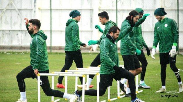 Konyaspor'da Bursaspor hazırlıkları başladı