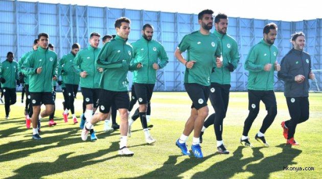 Konyaspor'da Kayseri hazırlıkları başladı