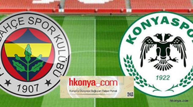 Konyaspor-Fernerbhaçe'ye konuk oluyor