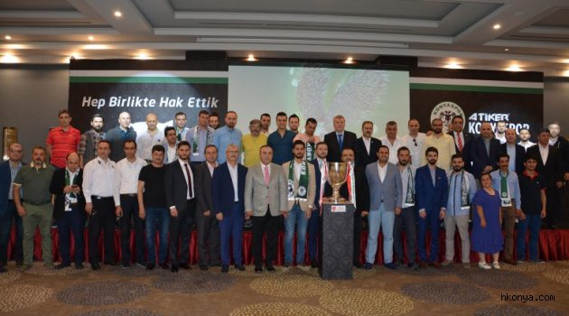 Konyaspor geleneksel iftar programını dün akşam gerçekleştirildi
