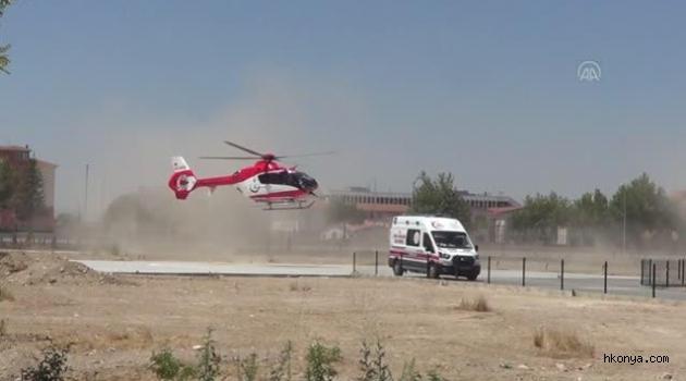 Kurban keserken yaralanan kişi, hastaneye sevk edildi
