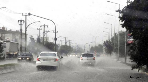 Meteorolojiden İç Anadolu'da 4 il için sağanak ve dolu uyarısı