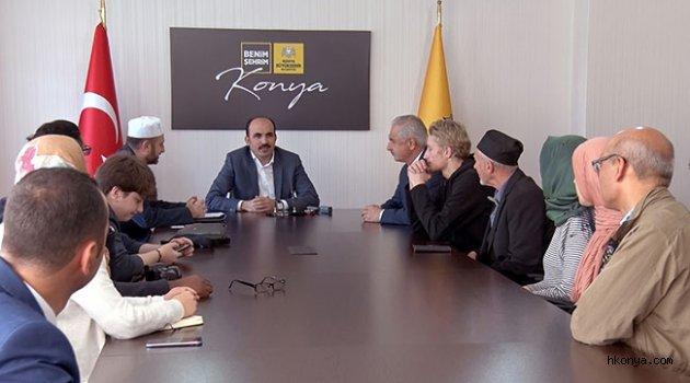 Müslüman Olan İngiliz Grup Konya'da Eğitim Alıyor
