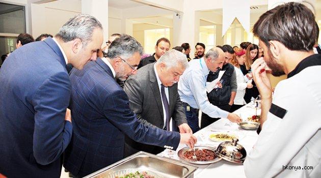 NEÜ'de 4. Geleneksel Yemek Yarışması